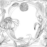 Vintage floral background Royalty Free Stock Images
