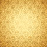 Vintage Floral Background. Illustration of seamless floral background in vintage style Royalty Free Stock Photos