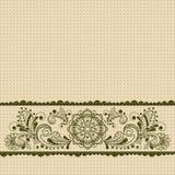 Vintage floral  background Stock Images