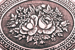 Vintage floral background Stock Photo