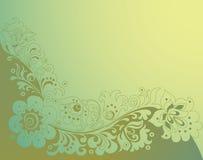 Vintage floral background. Old fashioned vintage floral background royalty free illustration