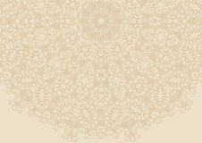 Vintage floral background in ethnic style. Creative vector Royalty Free Stock Photography