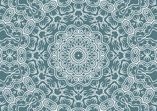 Vintage floral background in ethnic style. Stock Photo