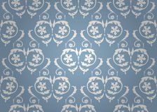 Vintage floral background pattern. Royalty Free Stock Image