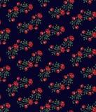 Vintage floral background stock illustration