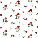 Vintage floral background stock illustration