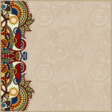 Vintage floral background for your design Stock Photography