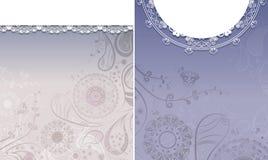 Vintage floral backgrounds Royalty Free Stock Images