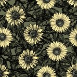 Vintage floral backgrounds Stock Image