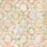 Vintage floral botanical spring background in soft pastel colors. Abstract vintage floral background pattern in soft pastel colors Stock Photo