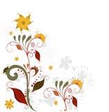 Vintage Floral Card Stock Images