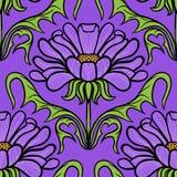 Vintage floral damask pattern Royalty Free Stock Image