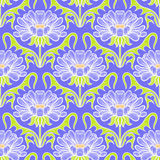 Vintage floral damask pattern Royalty Free Stock Photos