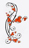 Vintage floral element Royalty Free Stock Images