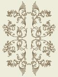 Vintage floral element for seamless texture Royalty Free Stock Image