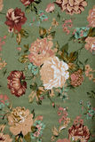 Vintage floral fabric Royalty Free Stock Images