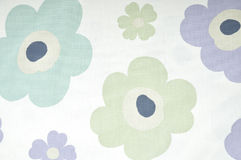 Vintage floral fabric Stock Images