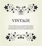 Vintage floral frame Royalty Free Stock Image