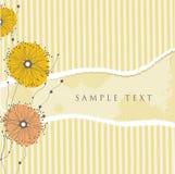 Vintage floral frame. Stock Images
