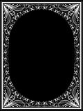 Vintage floral frame Stock Photos