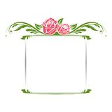Vintage Floral Frame Royalty Free Stock Photos