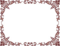 Free Vintage Floral Frame Royalty Free Stock Photography - 47233387
