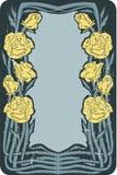 Vintage floral frame Stock Images