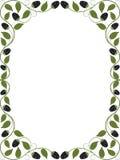 Vintage floral frame. Decorative pattern. Vector illustration Royalty Free Stock Photos