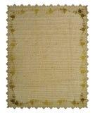 Vintage floral frame. Grunge paper Stock Photos