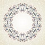 Vintage Floral Frame.Vector illustration Royalty Free Stock Image