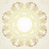 Vintage Floral Frame.Vector illustration Stock Photography
