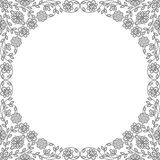 Vintage floral frames. Decorative patterns Royalty Free Stock Photography