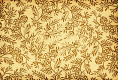 Free Vintage Floral Ornament On Grunge Retro Background Stock Photography - 13123772