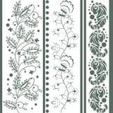 Vintage floral ornament Stock Image