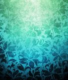Vintage floral paint background Stock Photography