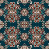Vintage floral paisley seamless pattern Royalty Free Stock Photography