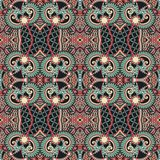Vintage floral paisley seamless pattern Royalty Free Stock Images