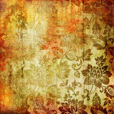 Vintage floral paper Royalty Free Stock Photography
