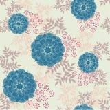 Vintage floral pattern Stock Images