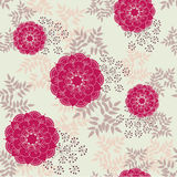 Vintage Floral Pattern Royalty Free Stock Images