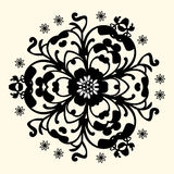 Vintage floral pattern Stock Photo