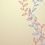 Vintage floral pattern abstract background Stock Image