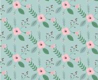 Vintage floral pattern. Classic wallpaper seamless vintage floral pattern Stock Photos