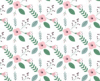 Vintage floral pattern Royalty Free Stock Photo