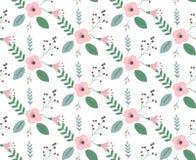 Vintage floral pattern. Classic wallpaper seamless vintage floral pattern Royalty Free Stock Photo