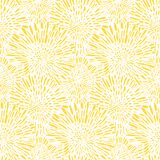 Vintage floral pattern with dandelions or asters. Stock Photography