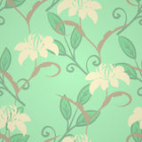 Vintage floral pattern Royalty Free Stock Image