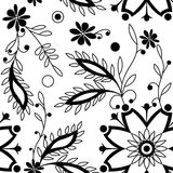 Vintage floral pattern Stock Photography