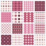 Vintage floral patterns Royalty Free Stock Photos