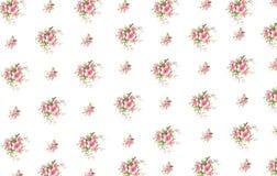 Vintage floral print Stock Image